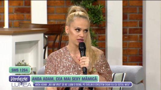 Anda Adam, cea mai sexy mamica