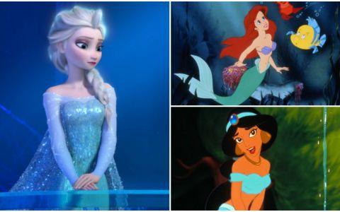 Printesele Disney, fara machiaj. Cum arata personajele tale preferate intr-o serie de imagini spectaculoase