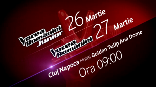 Ardelenii sunt asteptati weekend-ul acesta la Cluj, la preselectiile Vocea Romaniei Junior si Vocea Romaniei
