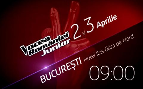 Caravana Vocea Romaniei Junior se opreste weekend-ul acesta in Bucuresti!