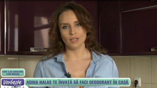 Adina Halas te invata sa faci deodorant in casa