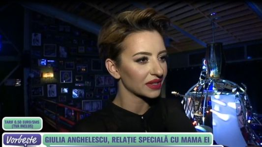 Giulia Anghelescu, relatie speciala cu mama ei