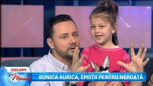 Bunica Aurica are emotii pentru nepoata