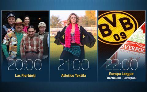 Joi e ziua confruntarilor la PRO TV!  Meciurile  incep de la 20:00