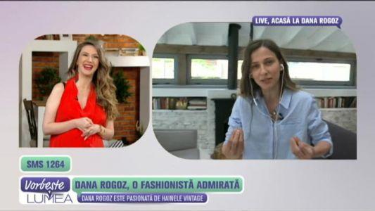 Dana Rogoz, o fashionista admirata
