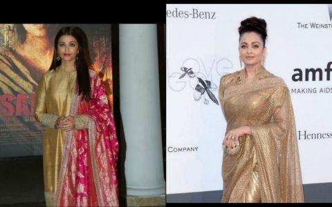 Aparitie de nota 10 a zeitei filmelor indiene. Cum arata Aishwarya Rai intr-o tinuta ca de mireasa