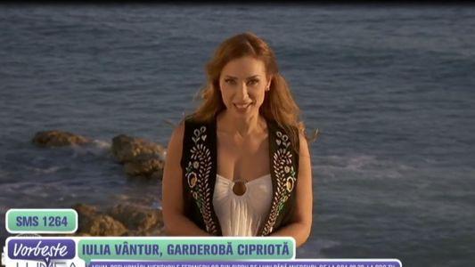 Iulia Vantur, garderoba cipriota