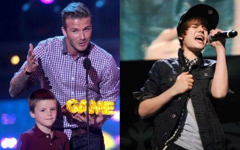 Fiul lui Beckham, urmatorul Justin Bieber? Intrepretarea care l-ar putea face gelos pe cantaretul hitului  Baby