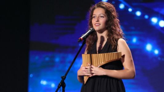 Romanii au talent 2016: Ramona Mihaela Dragoste - Reprezentatie la nai