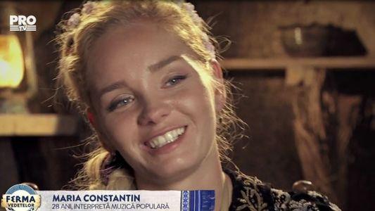 Declaratie de dragoste din partea Mariei Constantin pentru sotul ei