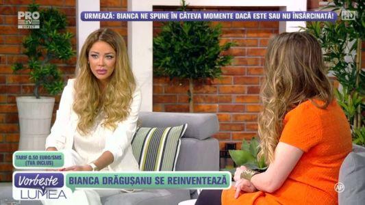 "Bianca Dragusanu: ""Sunt pregatita sa devin mama"""