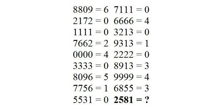 Un nou test de logica face furori pe internet. Copiii reusesc sa il rezolve in cateva secunde. Tu te-ai prins de raspuns