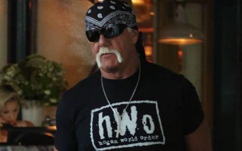 In ring si pe ecrane este un luptator fioros, dar in viata reala lucrurile sunt diferite. Cum a fost fotografiat Hulk Hogan alaturi de sotia sa