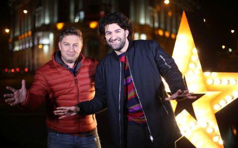 Smiley si Pavel Bartos discuta cu fanii live, pe Facebook, inainte de prima semifinala Romanii au Talent
