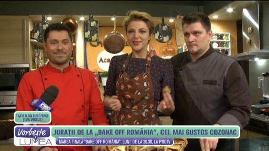 """Juratii de la """"Bake Off Romania"""", cel mai gustos cozonac"""