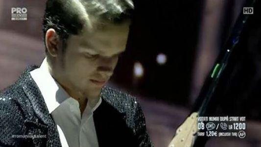 Romanii au talent 2016 - Semifinala 1: Andrei Surdu - Reprezentatie la pian Rapsodia Ungara 2 - Franz Liszt