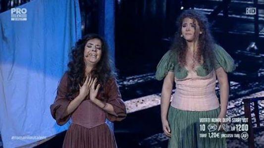 Romanii au talent 2016 - Semifinala 1: Elena si Emanuela Popescu - Interpreteaza piesa I Dreamed a Dream