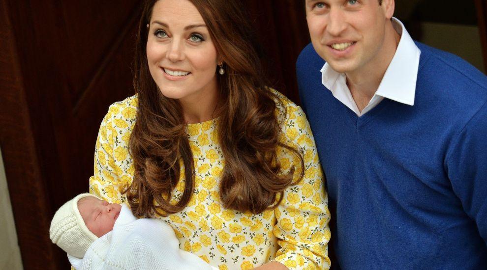 E copia fidela a mamei sale. Cat de simpatica e micuta Charlotte, fiica lui Kate Middleton si a Printului William