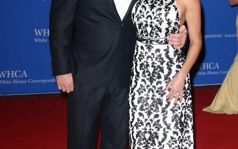 Au impresionat pe covorul rosu de la Casa Alba. John Cena si Nikki Bella, eleganti la dineul organizat de Barack Obama