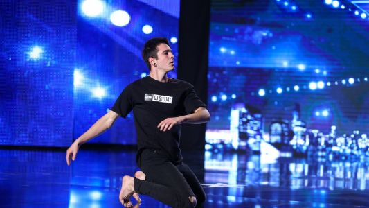 Romanii au talent 2016: Robert Fratila - Dans contemporan