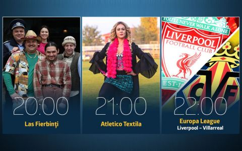 ASTAZI la PROTV ai fotbal si comedie! Liverpool - Villarreal incepe de la ora 22:00