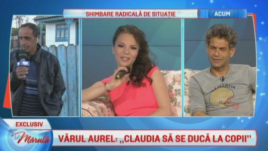 "Varul Aurel: ""Claudia sa se duca la copil"""