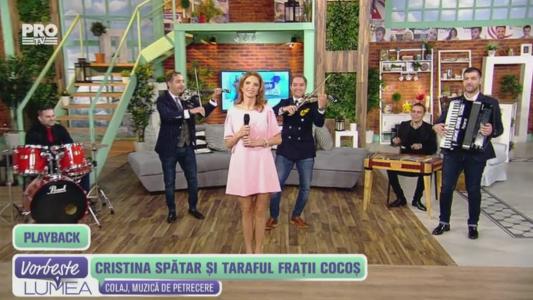 Cristina Spatar si Taraful Fratii Cocos