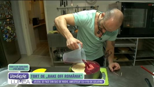 "Tort de ""Bake Off Romania"""