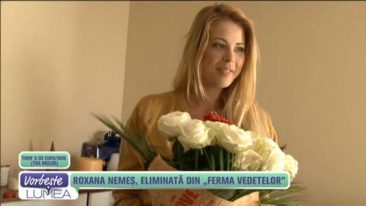 """Roxana Nemes, eliminata din """"Ferma Vedetelor"""""""