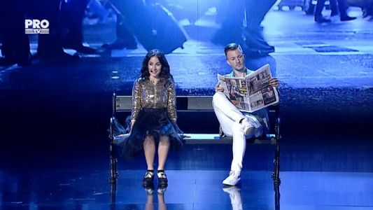 Romanii au talent 2016 - Semifinala 2: Andra Gogan - Interpreteaza un numar de musical