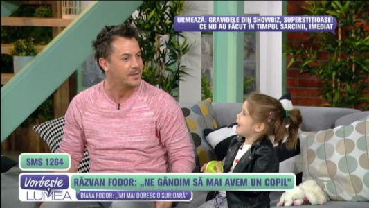 """Razvan Fodor: """"Ne gandim sa mai avem un copil"""""""