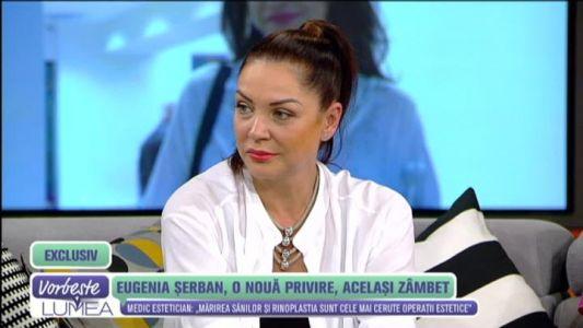 Eugenia Serban, o noua privire, acelasi zambet