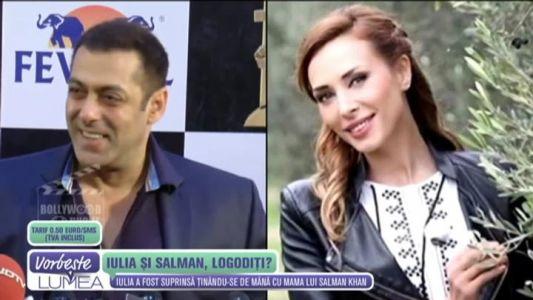 Iulia Vantur si Salman Khan, impreuna la nunta