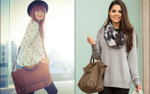 Porti geanta pe partea dreapta sau o tii cu mainile in fata? Afla cate de usor poti descrie o femeie dupa modul in care isi tine geanta