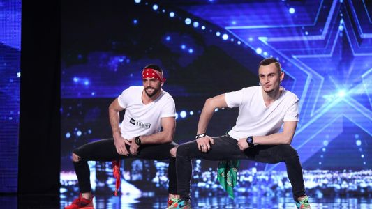 Romanii au talent 2016: Bruce si Istvan - Moment de dans