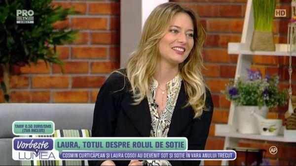 Laura Cosoi, totul despre rolul de sotie