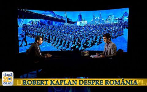 Robert D. Kaplan dezbate prezentul Romaniei prin prisma istoriei la  Dupa 20 de ani . Duminica, de la 10:00, la Pro TV