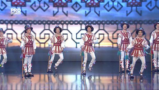 Romanii au talent 2016 - Semifinala 5: Romula Malva - Danseaza Calusarii