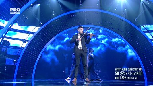 Romanii au talent 2016 - Semifinala 5: Remus Stana - Interpreteaza la vioara piesa Love Me Like You Do