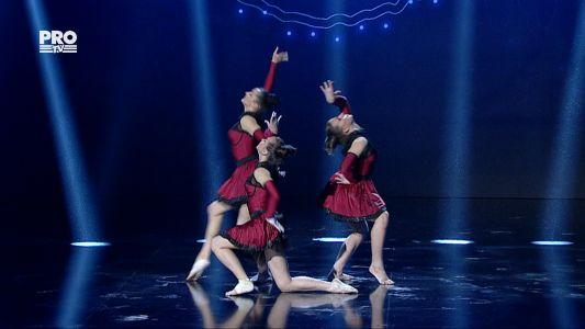 Romanii au talent 2016 - Semifinala 5: Triada - Gimnastica acrobatica