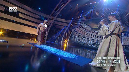 Romanii au talent 2016 - Semifinala 5: Maria  Remzi Karatasoglu - Demonstratie de forta