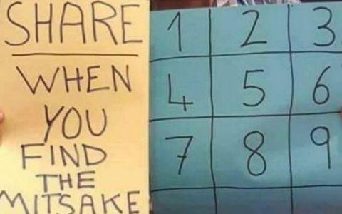 Testul de matematica ce face senzatie pe internet. Sute de mii de oameni au incercat sa-si dea seama care e greseala