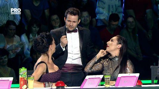 Romanii au talent 2016 - Semifinala 5: Magicianul Robert Tudor, show de zile mari