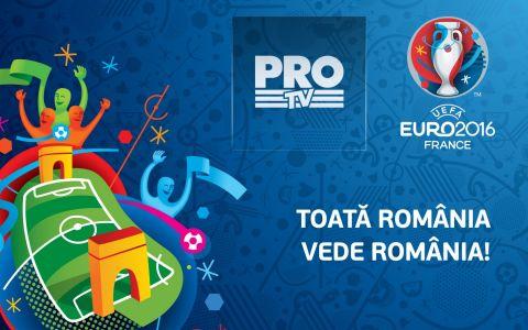 Programul transmisiunilor Pro TV de la UEFA Euro 2016 trade;