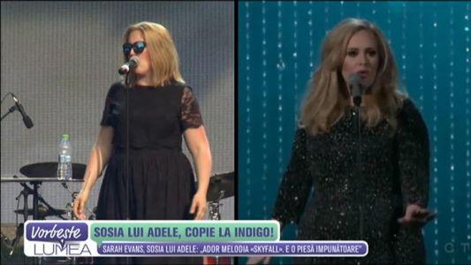 Sosia lui Adele, copie la indigo