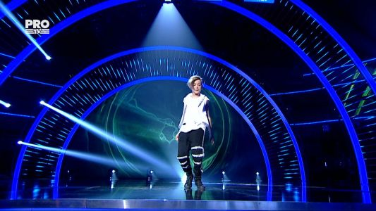 Romanii au talent 2016 - Finala: Cristian Zlatan - Breakdance
