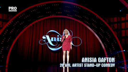 Romanii au talent 2016 - Finala: Anisia Gafton - Stand-up Comedy