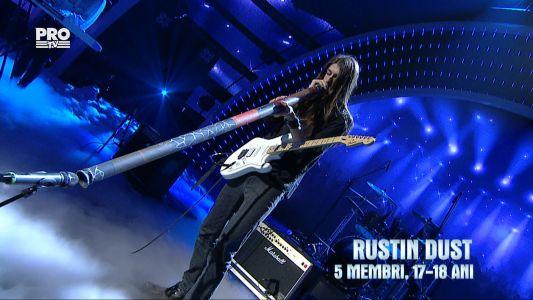 Romanii au talent 2016 - Finala: Rustin Dust - Interpreteaza o piesa rock