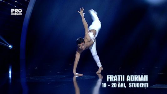 Romanii au talent 2016 - Finala: Fratii Adrian - Moment de dans