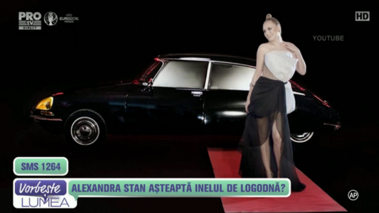 Alexandra Stan asteapta inelul de logodna?